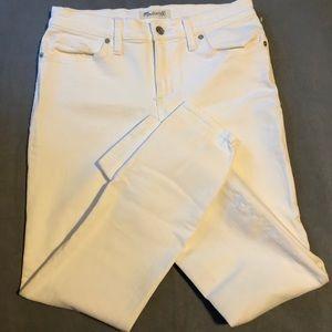 Madewell White Skinny Skinny Jeans (25)